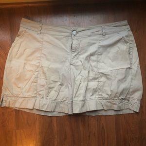 Pants - Lane Bryant Khaki shorts